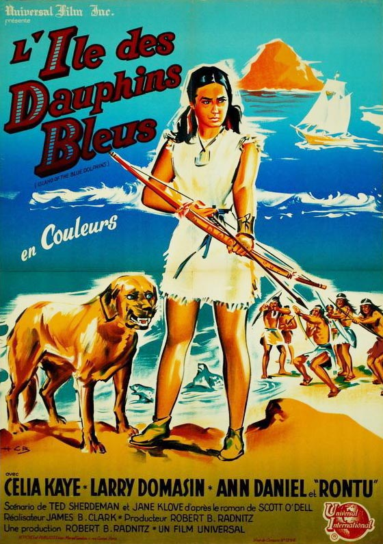 Island of the Blue Dolphins French Poster