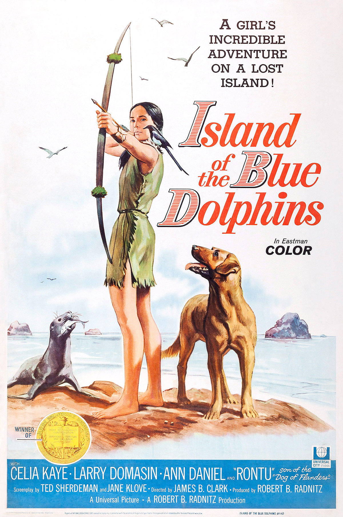 Island of the Blue Dolphins USA Poster